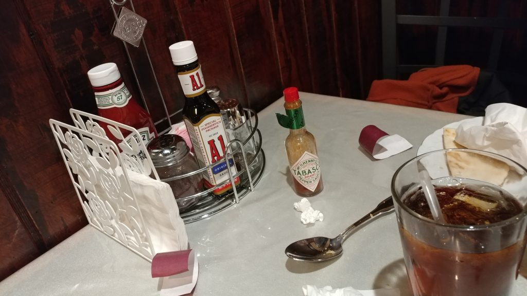 Sauces and drinks
